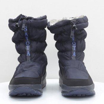 Дутики Sayota темно-синие 55013