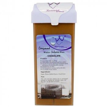 Віск для депіляції Konsung касетний водорозчинний Шоколад 150 гр