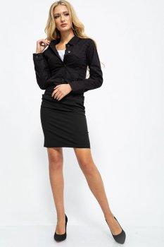 Джинсовая куртка жен. цвет Черный FG_02210