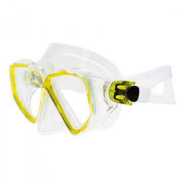 Маска Marlin Fiji Yellow/Trans Sil (015537)
