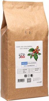 Кофе в зернах Coffee365 Colombia Decaf без кофеина 1 кг (4820219990239)