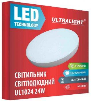 Настенно-потолочный светильник Ultralight UL 1024 24 Вт 4100 К (UL-49419)