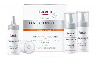 Гиалурон-Филлер Eucerin Витамин С бустер 3 х 8 мл (4005800229473)