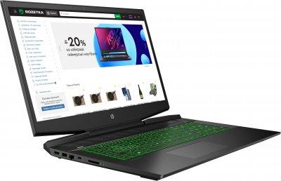 Ноутбук HP Pavilion Gaming 17-cd1024ur (29A06EA) Shadow Black