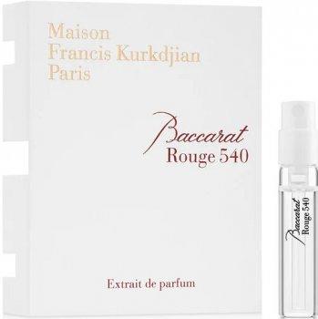 Пробник Парфюмированная вода унисекс Maison Francis Kurkdjian Baccarat Rouge 540 Extrait De Parfum 2 мл (3700559605943)