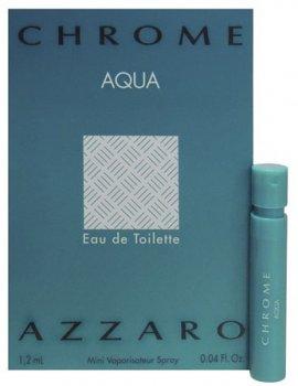 Пробник Туалетная вода для мужчин Azzaro Chrome Aqua 1.2 мл (3351500013012)