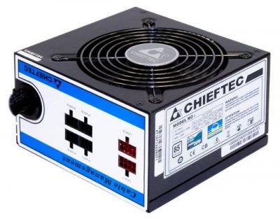 Блок живлення Chieftec CTG-550C, ATX 2.3, APFC, 12cm fan, ККД 85%, modular, RTL