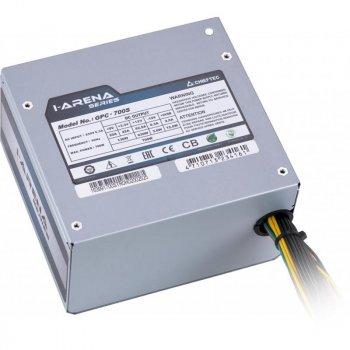 Блок живлення Chieftec GPC-700S, ATX 2.3, APFC, 12cm fan, ККД 80%, bulk