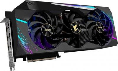 Gigabyte PCI-Ex GeForce RTX 3080 Aorus Xtreme 10GB GDDR6X (320bit) (1710/19000) (3 х HDMI, 3 x DisplayPort) LHR (GV-N3080AORUS X-10GD v2.0)