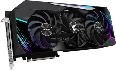 Gigabyte PCI-Ex GeForce RTX 3080 Aorus Master 10GB GDDR6X (320bit) (1710/19000) (3 х HDMI, 3 x DisplayPort) LHR (GV-N3080AORUS M-10GD v3.0)