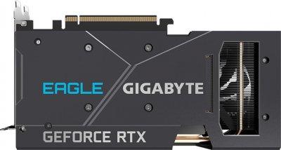Gigabyte PCI-Ex GeForce RTX 3060 Eagle 12G 12GB GDDR6 (192bit) (15000) (2 х HDMI, 2 x DisplayPort) LHR (GV-N3060EAGLE-12GD v2.0)