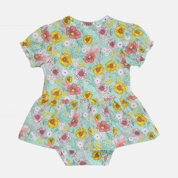Боди-платье Coccodrillo Le Papillon WC1112801LEP-022 Разноцветное