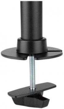 Настольное крепление для двух мониторов ITech Black (MBS-21F)