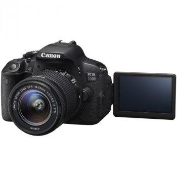 Дзеркальний фотоапарат Canon EOS 700D kit 18-55