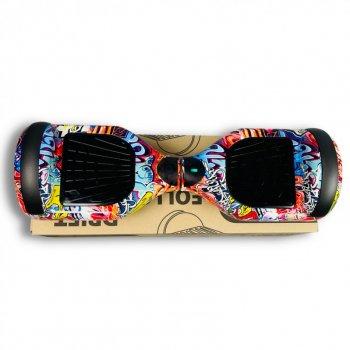 "Гироборд Smart Balance 6,5 дюймов"" PRO 2021 Оранжевый Хип Хоп АКБ Samsung 4400mAh / 700Вт Bluetooth-колонка и LED — подсветка колес"
