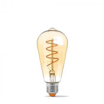 LED лампа VIDEX Filament ST64FASD 5W E27 2200K дімерна бронза