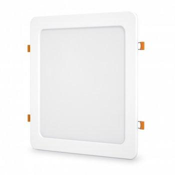 LED світильник вбудований квадрат VIDEX 24W 5000K