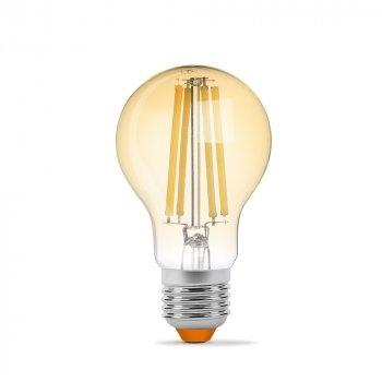 LED лампа VIDEX Filament A60FA 10W E27 2200K бронза
