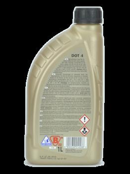 Жидкость тормозная K2 TURBO DOT 4 BRAKE FLUID 1л (T108)