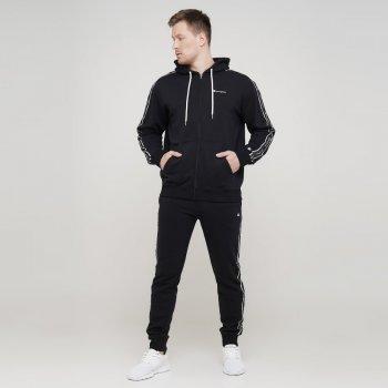 Чоловіча толстовка Champion Hooded Full Zip Sweatshirt Чорний (cha215187-NBK)
