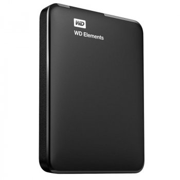 """Накопичувач Western Digital Elements 500GB 2.5"""" USB 3.0 Black (WDBUZG5000ABK-WESN)"""