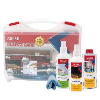 Набор средств по уходу за кварцсодержащим камнем Quartz Care Akemi кейс арт 0004