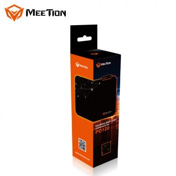 Коврик для мыши с подсветкой RGB MeeTion PD120 355 * 264,5 * 4 мм Черный
