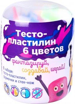 Мини-набор для лепки Genio Kids Тесто-пластилин 6 цветов (TA1065V)