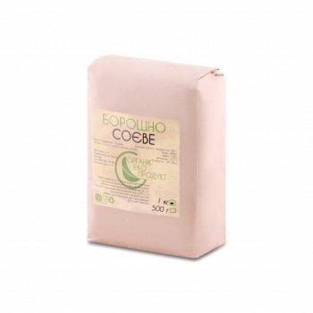 Мука соевая натуральная Organic Eco-Product, 1 кг