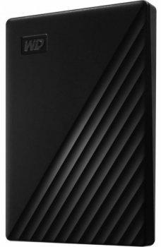 "Зовнішній диск HDD External 2.5"" 1TB Western Digital My Passport USB 3.2, Black (WDBYVG0010BBK-WESN)"