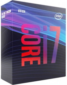 Процесор CPU Core i7-9700 8 cores 3,00 Ghz-4,70 Ghz/12Mb/s1151/65W Coffee Lake-S (BX80684I79700) BOX