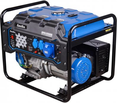 Генератор бензиновый EnerSol EPG-5500S