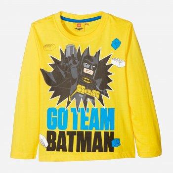 Футболка с длинными рукавами Disney 4052384216481_yellow Желтая/Batman