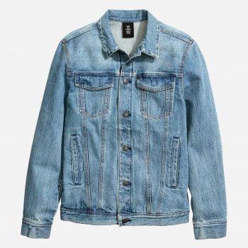 Джинсова куртка H&M 1005-4169734 Блакитна
