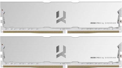 Оперативная память Goodram DDR4-3600 16384MB PC4-28800 (Kit of 2x8192) IRDM Pro Hollow White (IRP-W3600D4V64L17S/16GDC)
