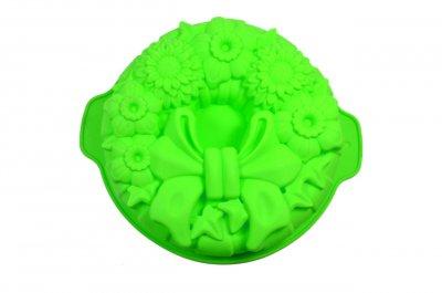 Форма для випічки Empire Калач 260 x 50 мм Зелений Силікон (7122)