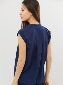 Блузка Criss CRS210041-4 Синяя