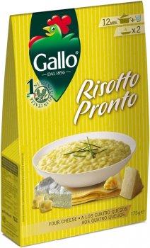 Ризотто Riso Gallo четыре сыра 175 г (8001420006728)