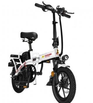 Електровелосипед Phoenix - білий