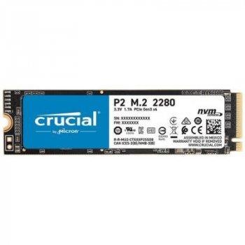 Crucial P2 500Gb M.2 PCI-E 4x, 3D QLC, 2300/940 MB/s (CT500P2SSD8)