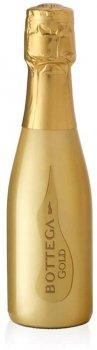 Вино игристое Bottega Gold Prosecco Brut белое сухое 0.2 л 11% (8005829232337)