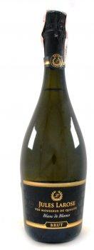 Вино игристое Jules Larose Blanc de Blancs Brut белое брют 0.75 л 11% (3500610096082)