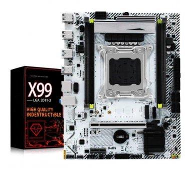 Материнская плата Jingyue X99M Plus (s2011-3, Intel X99, PCI-Ex16)