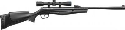Гвинтівка пневматична Stoeger RX5 Synthetic Stock Black Combo з прицілом 4х32 калібр 4.5 мм (80511)