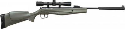 Гвинтівка пневматична Stoeger RX5 Synthetic Stock Green Combo з прицілом 4х32 калібр 4.5 мм (RX550003A)