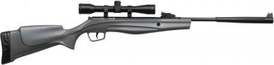 Гвинтівка пневматична Stoeger RX5 Synthetic Stock Grey Combo з прицілом 4х32 калібр 4.5 мм (RX550007A)
