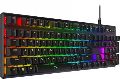 Клавиатура проводная HyperX Alloy Origins USB HyperX Aqua (HX-KB6AQX-US)