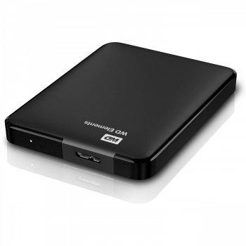 Зовнішній жорсткий диск Western Digital Elements 500GB 2.5 USB 3.0 External Black (WDBUZG5000ABK)