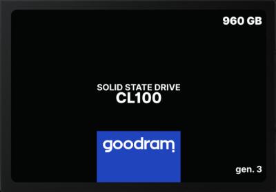 """Накопичувач SSD 2.5"""" 960GB GOODRAM (SSDPR-CL100-960-G3)"""