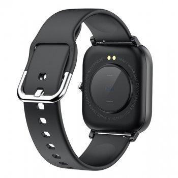 Смарт-годинник c вимірюванням температури Smart Watch I18 Black